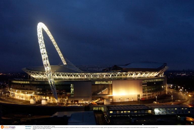 Новый стадион Wembley, открытый в 2007 г. Source: http://wembleystadium.com