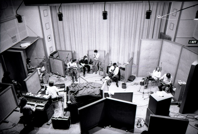 Studio One во время BB King sessions в 1971 г. Photo: Estate of Keith Morris (www.keithmorrisphoto.co.uk). Source: http://www.soundonsound.com