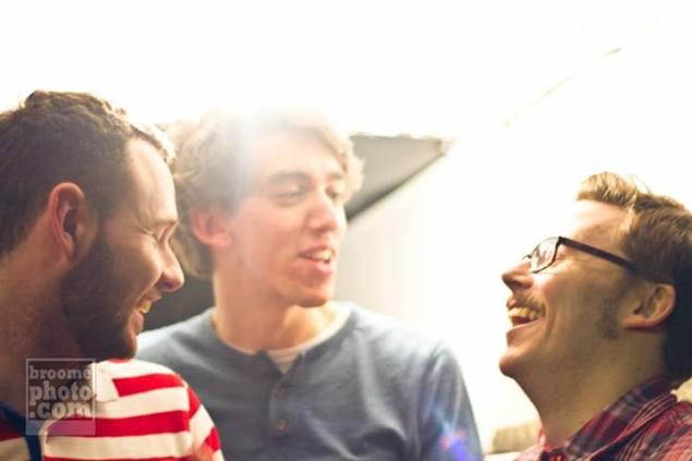 Wax Futures: Киран, Саймон, Грэм. Source: www.facebook.com/waxfutures